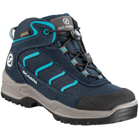Scarpa Mistral Kid GTX Chaussures, navy/turquoise